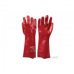 Gants PVC rougesNettoyage