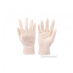 100 gants latex jetables