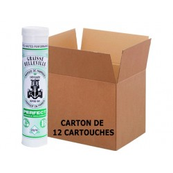 Graisse Roulements PERFECT - Carton de 12 Cartouches de 400grGraisse Roulements