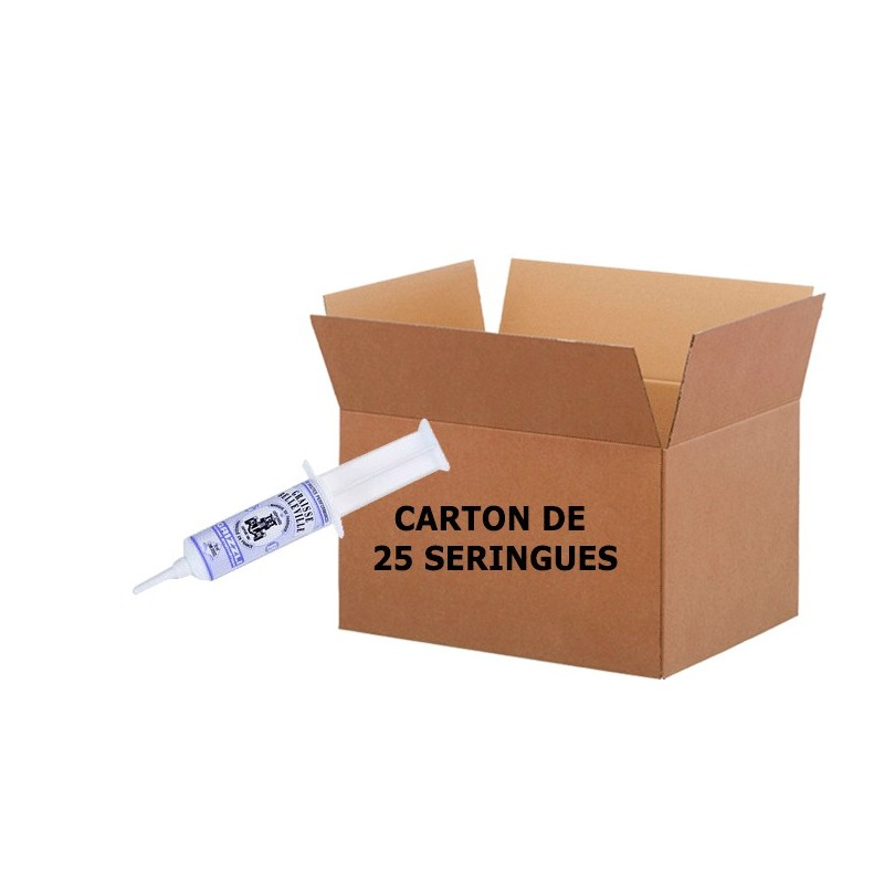 grizzli seringue 20ml carton de 25 seringues. Black Bedroom Furniture Sets. Home Design Ideas